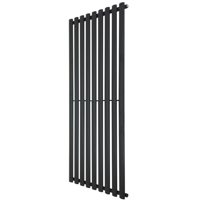 Queen Black Designer Radiator - 630 x 1800mm