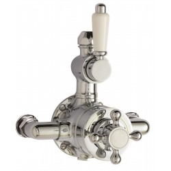 Victorian Twin Thermostatic Shower Valve