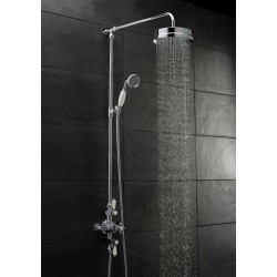 Victorian Triple Thermostatic Shower Valve