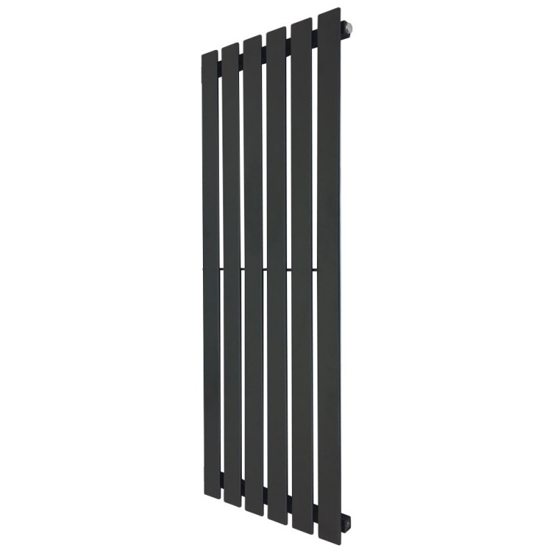 King Black Designer Radiator - 440 x 1250mm