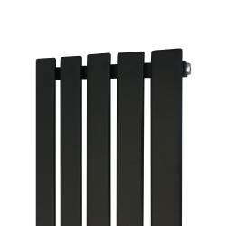 King Black Designer Radiator - 360 x 1850mm