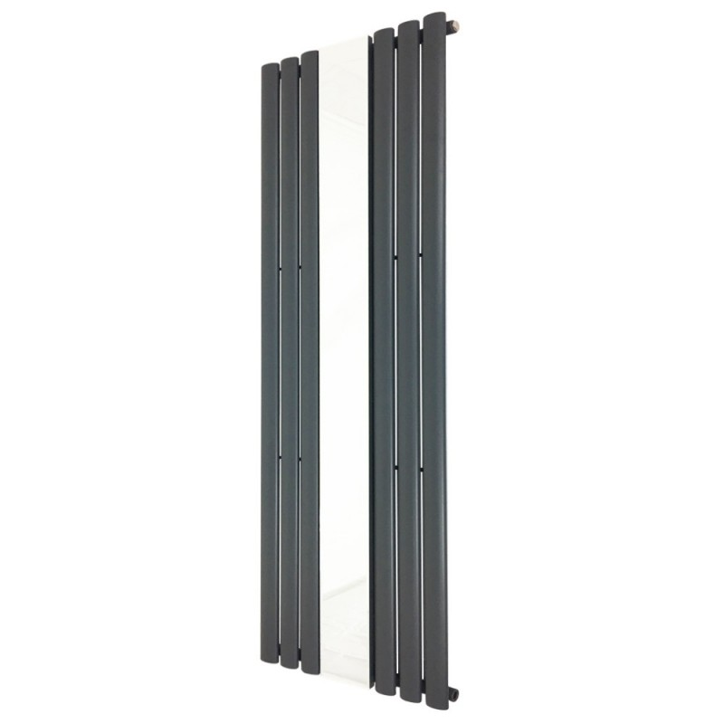 Queen Anthracite Mirror Radiator - 499 x 1800mm