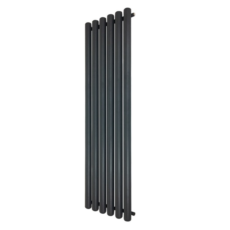 Cleopatra Anthracite Designer Radiator - 472 x 1800mm