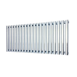 Queen Chrome Designer Radiator - 1380 x 500mm