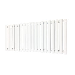 Queen White Designer Radiator - 1380 x 500mm