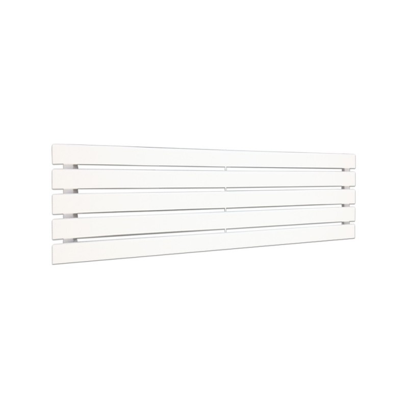 King White Designer Radiator - 1250 x 360mm
