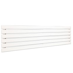 King White Designer Radiator - 1850 x 440mm