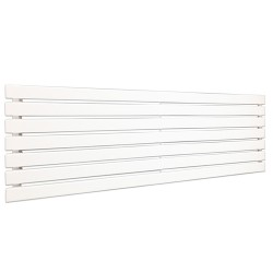 King White Designer Radiator - 1850 x 516mm