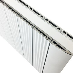 Supreme White Aluminium Radiator - 1030 x 500mm
