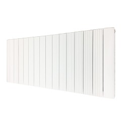 Supreme White Aluminium Radiator - 1500 x 500mm