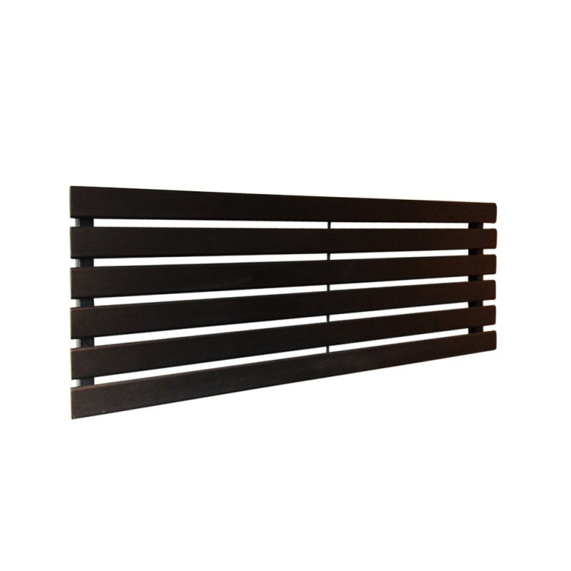 King Black Designer Radiator - 1250 x 440mm