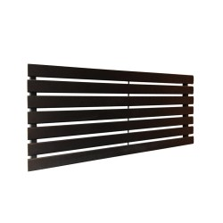 King Black Designer Radiator - 1250 x 516mm