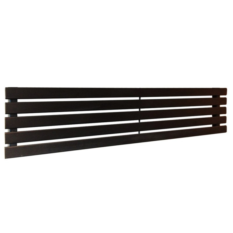 King Black Designer Radiator - 1850 x 360mm