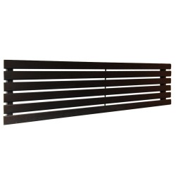 King Black Designer Radiator - 1850 x 440mm