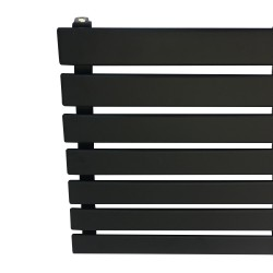 King Black Designer Radiator - 1850 x 516mm