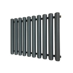 Cleopatra Anthracite Designer Radiator - 792 x 600mm