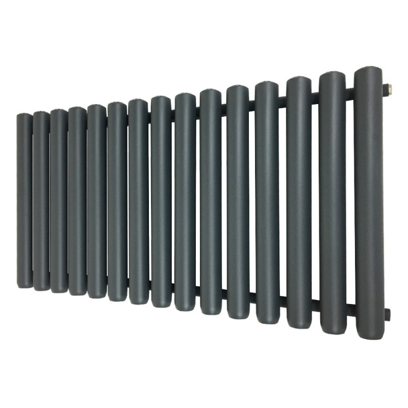 Cleopatra Anthracite Designer Radiator - 1192 x 600mm