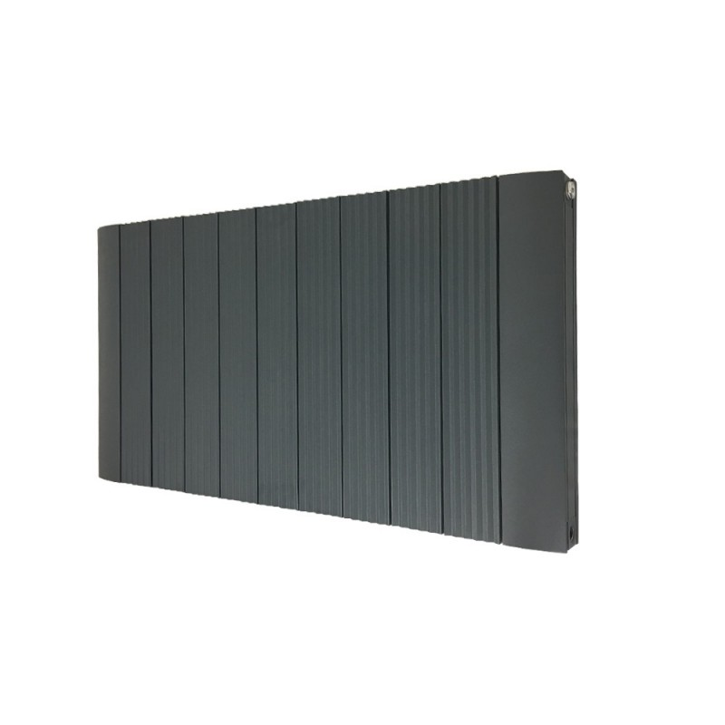 Supreme Anthracite Aluminium Radiator - 1030 x 500mm