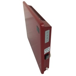 1000w Nova Live R Red Electric Panel Heater - Side View