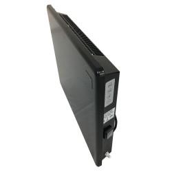 1000w Nova Live R Black Electric Panel Heater - Side View