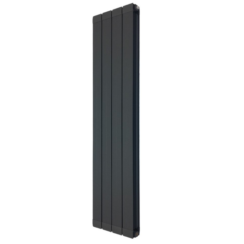 Princess Anthracite Aluminium Radiator - 318 x 1800mm
