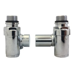 Dual Fuel Radiator Valves Set