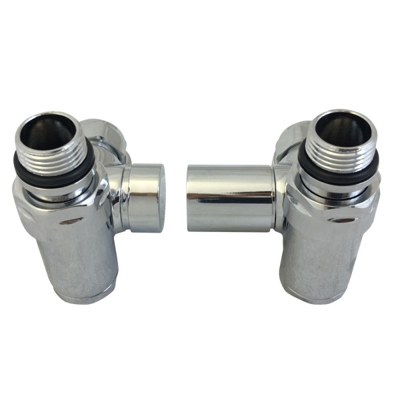 Dual Fuel Radiator Valves Set - Top Down View