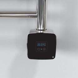 Rica Stone Black/Chrome Thermostatic Element - Installed