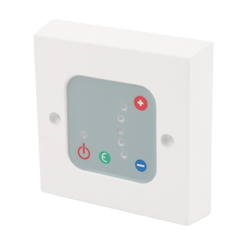 White Thermostatic Wall Controller