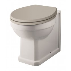 Richmond Comfort Height Back to Wall Toilet Pan