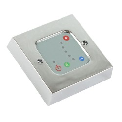 Chrome Thermostatic Wall Controller