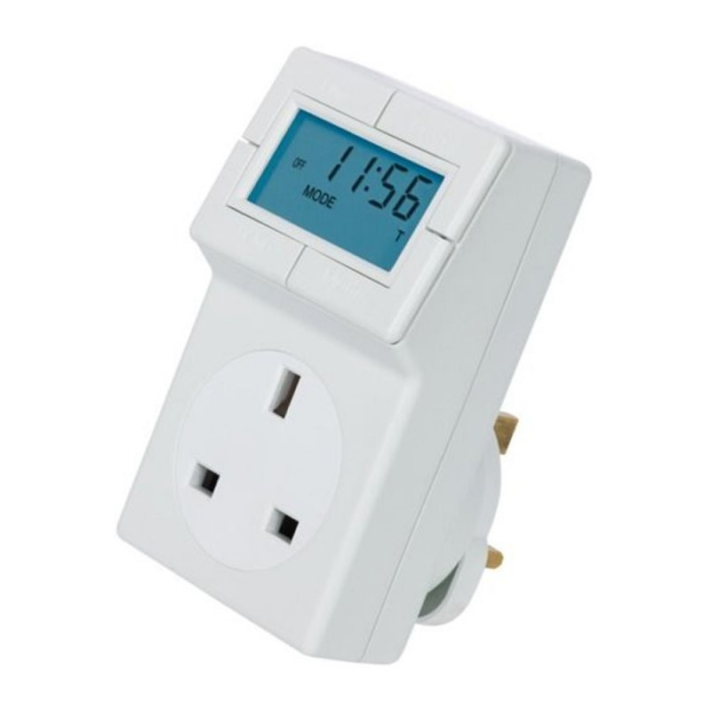 Plug-In Electronic Thermostat and 24hr Timer - TRT05