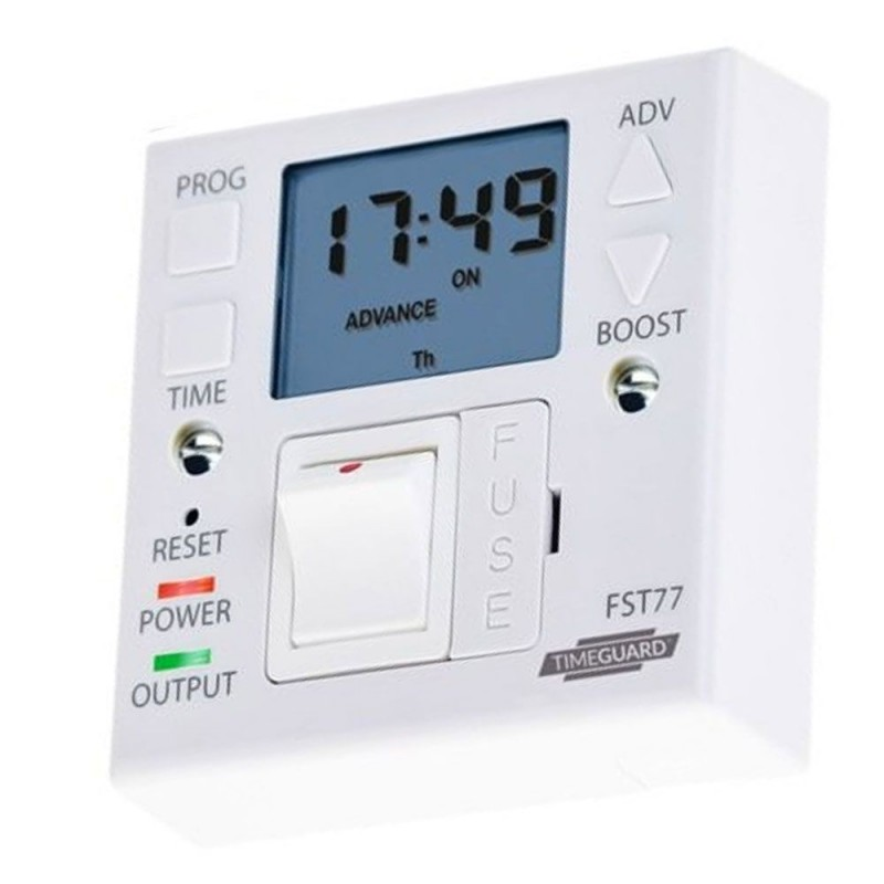 Combination Unit 7 day / 24 hour Fused Spur Timer 13A - FST77