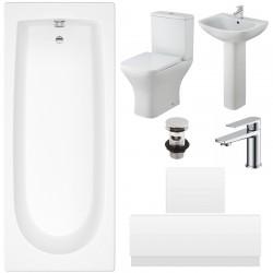 Bathroom Suite - 1700mm x 700mm  Bath Set