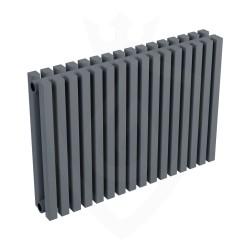 Ultraheat Klon Designer Anthracite Double Radiator - 611 x 420mm