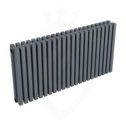 Ultraheat Klon Designer Anthracite Double Radiator - 839 x 420mm