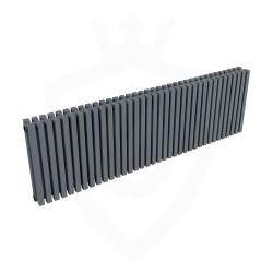 Ultraheat Klon Designer Anthracite Double Radiator - 1371 x 420mm