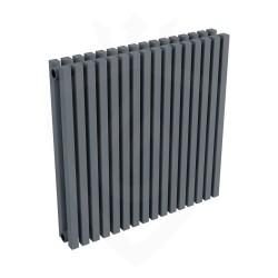 Ultraheat Klon Designer Anthracite Double Radiator - 611 x 600mm