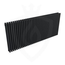 Ultraheat Klon Designer Black Double Radiator - 1371 x 600mm