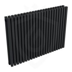 Ultraheat Klon Designer Black Double Radiator - 839 x 600mm