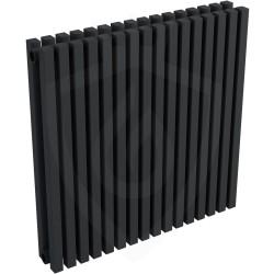 Ultraheat Klon Designer Black Double Radiator - 611 x 600mm