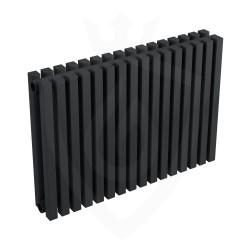 Ultraheat Klon Designer Black Double Radiator - 611 x 420mm