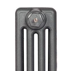 Victoriana 4 Column Cast Iron Radiator - 760mm High - Profile View
