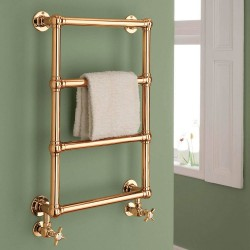 Alice Traditional Copper Towel Rail - 500 x 750mm