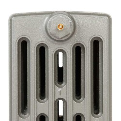 Neo Georgian 6 Column Cast Iron Radiator - 960mm High - Profile View