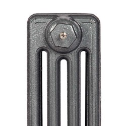 Victoriana 4 Column Cast Iron Radiator - 460mm High - Profile view