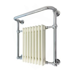 Newbury Wall Mounted Traditional Towel Rail - 735 x 952mm