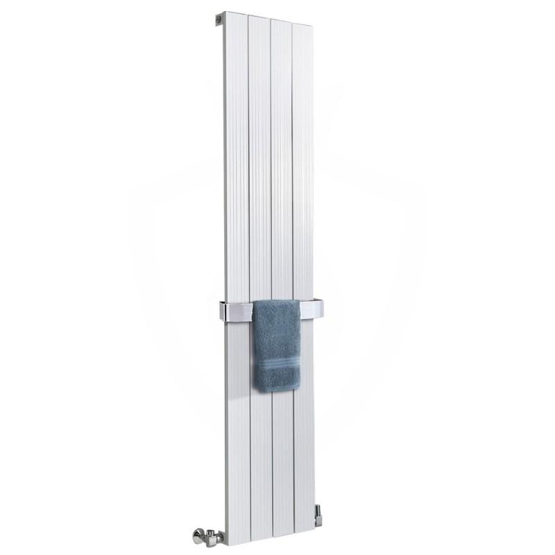 Sovereign White Aluminium Radiator - 375 x 1800mm