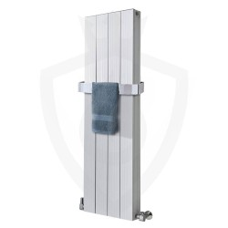 Sovereign White Double Aluminium Radiator - 375 x 1200mm