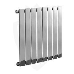 Sultan Chrome Designer Radiator - 600 x 600mm